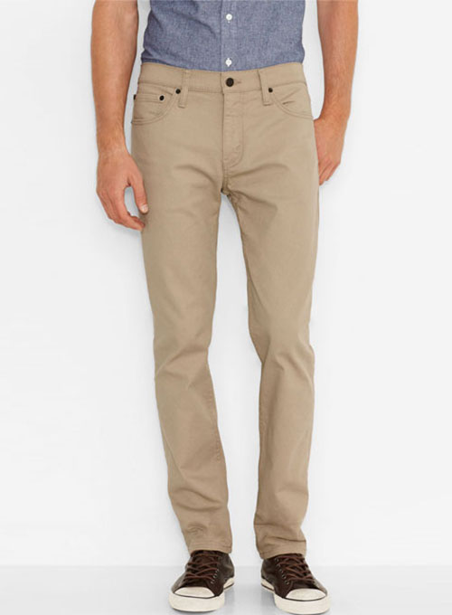Chino Jeans cotton 5 pocket chinos - jeans style ZFOLCWI