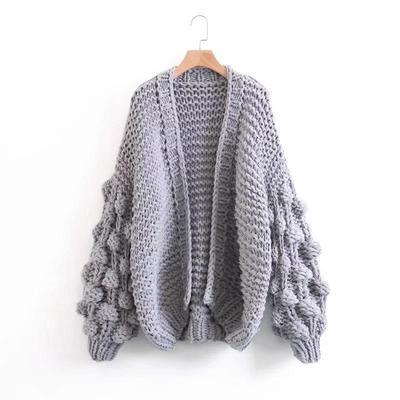 chunky knit cardigans extreme chunky knit cardigan YEVZOWG