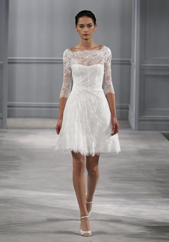 Civil Wedding Dresses monique lhuillier XFHMCMX
