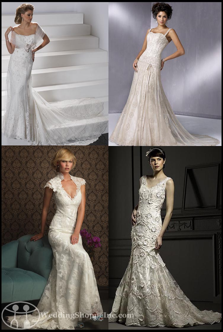 classic vintage style wedding dresses ... vintage style wedding dresses WZUPJLZ