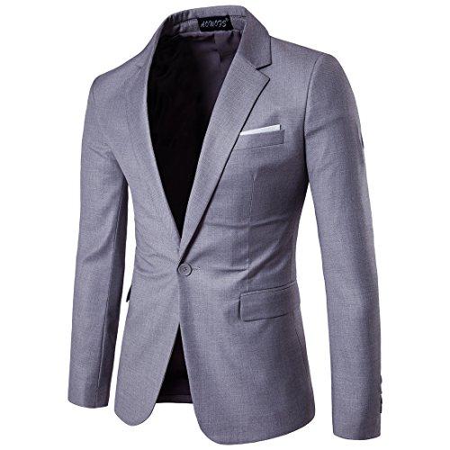 coat suit cloudstyle menu0027s suit jacket one button slim fit sport coat business daily  blazer TOFJNLQ