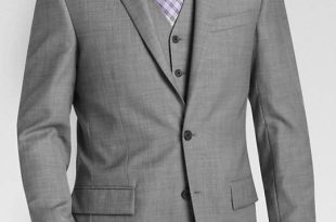 coat suit egara gray sharkskin slim fit suit separates coat LIWNKMB