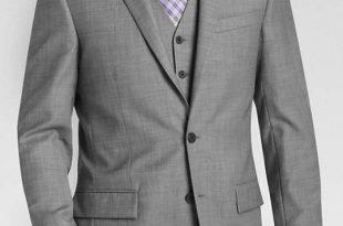 coat suit egara gray sharkskin slim fit suit separates coat LIWNKMB