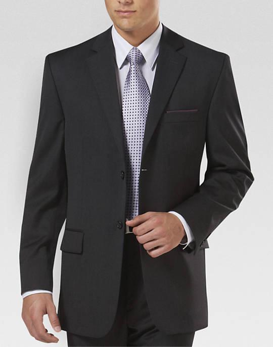 coat suit pronto uomo platinum modern fit suit separates coat, charcoal - mens  clothing - menu0027s BLIKOIK