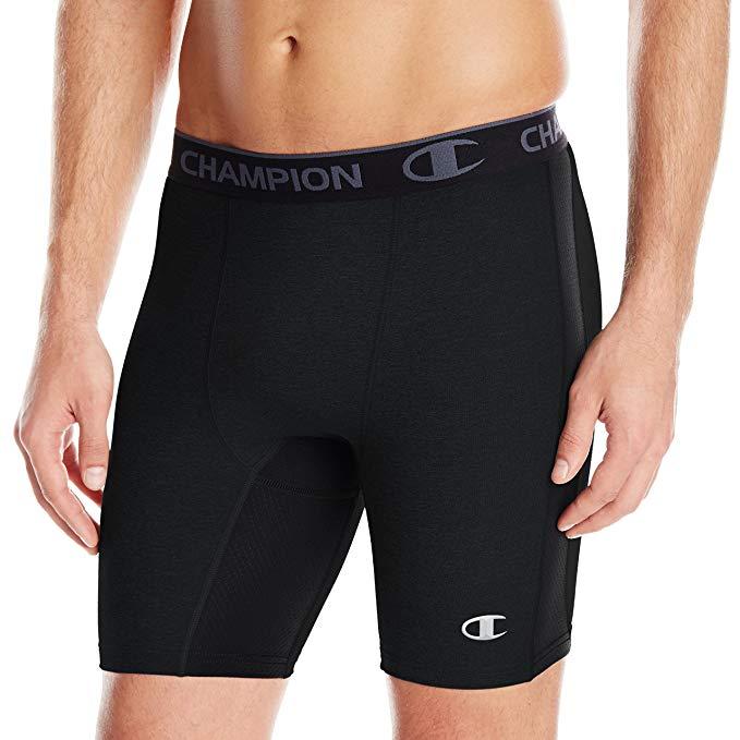 Compression Shorts amazon.com: champion menu0027s powerflex compression short: clothing PPHUEUC