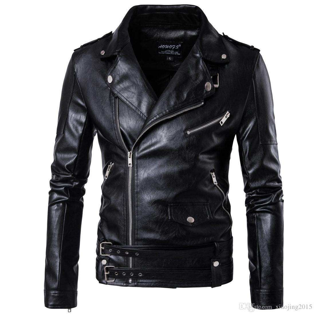 cool jackets 2017 black moto leather jackets for men short cool best designer faux  leather blazer BDRXTHG