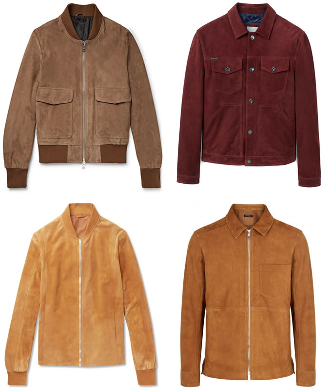 cool jackets the best suede jackets for men OSOGOYI