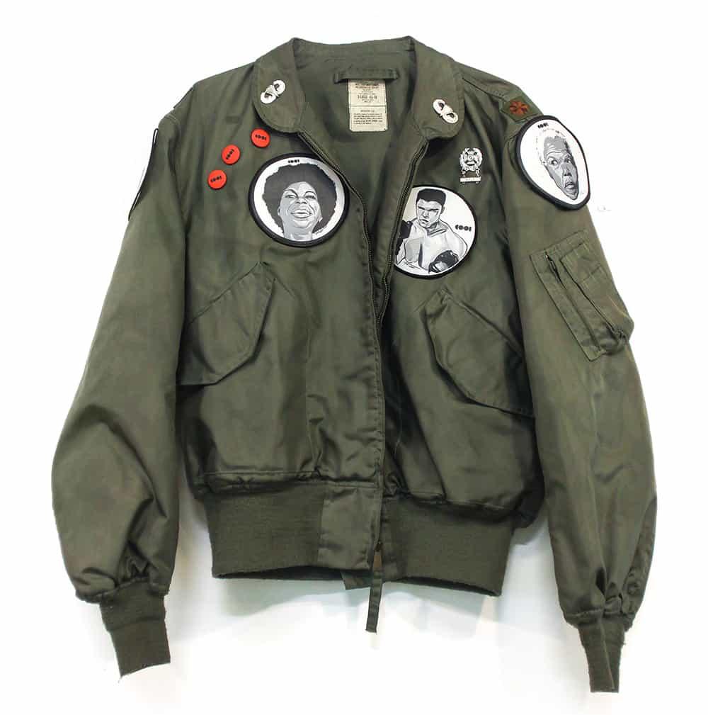 cool jackets vintage military jacket VFRTYWL