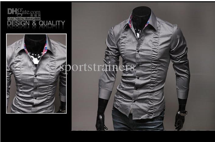 cool shirts for men 2018 2015 new fashion drape shirts men shirt business shirts cool shirt  summer collar PAUBTUP