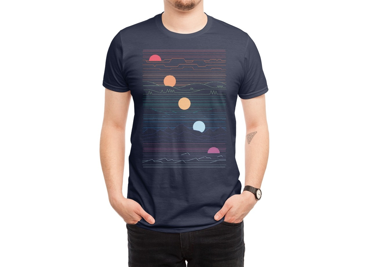 cool shirts for men product title: many lands under one sun hero shot FTJJTXN