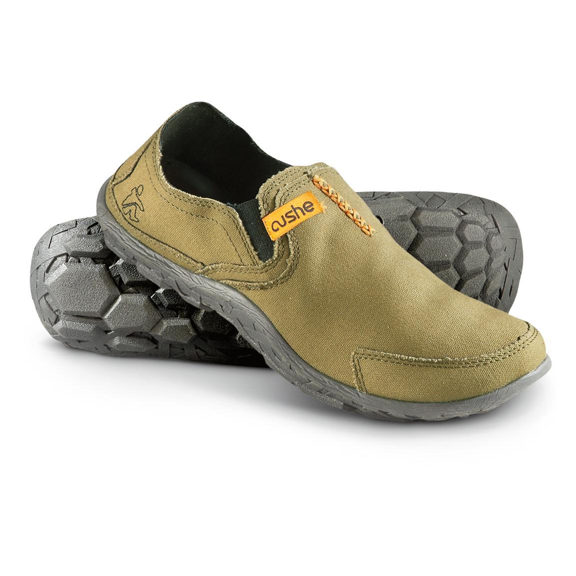 cushe shoes menu0027s cushe mocs, olive RVZYRJP