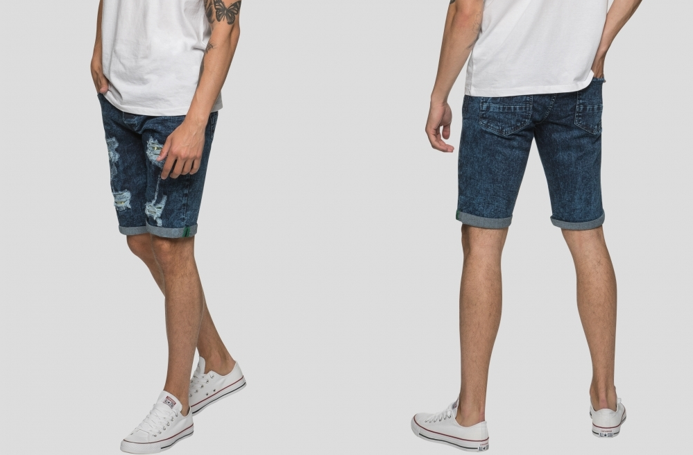 denim shorts for men CSAFDDA