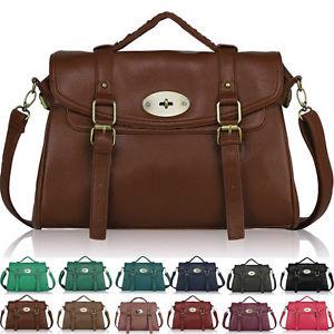 designer laptop bags image is loading ladies-womens-designer-leather-style-satchel-office-laptop- ULZXGPK