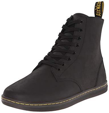 Dr Martens Boots dr. martens menu0027s tobias boot,black greasy lamper,10 uk/11 m XLMGWVU