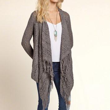 drapey blanket cardigan OHCTWWS
