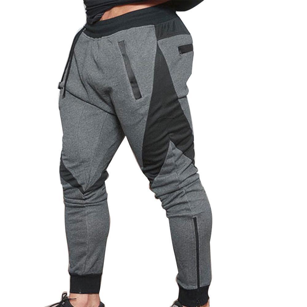 elastic sport pants HKHJPUU