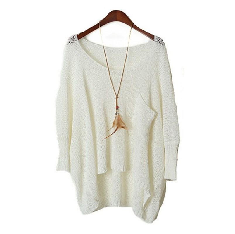 fall long baggy sweaters ... DYMAFGR
