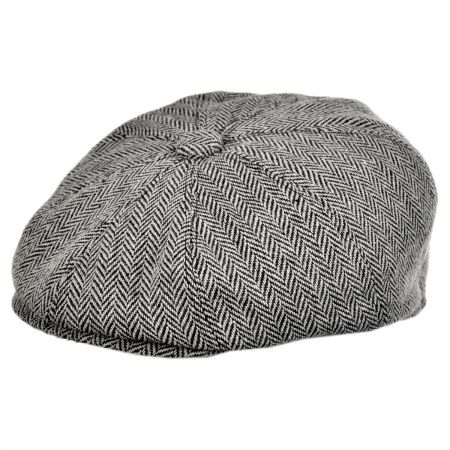 flat caps herringbone wool blend newsboy cap alternate view 7 USBUQKV