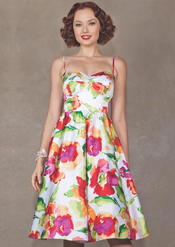 floral dress sunshine swing dress | summer floral VCGLLRE