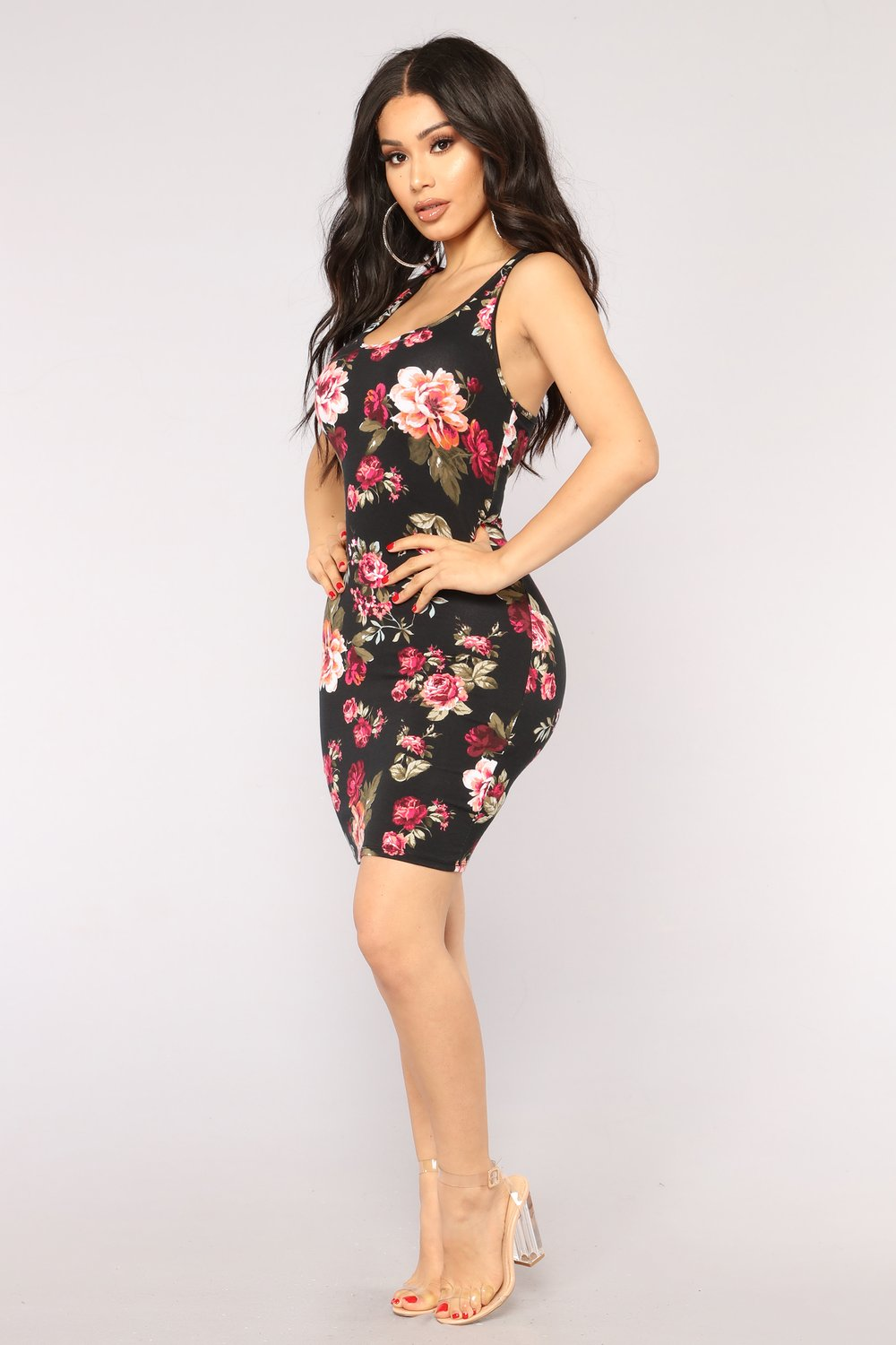 Get vibrant this summer with floral dress