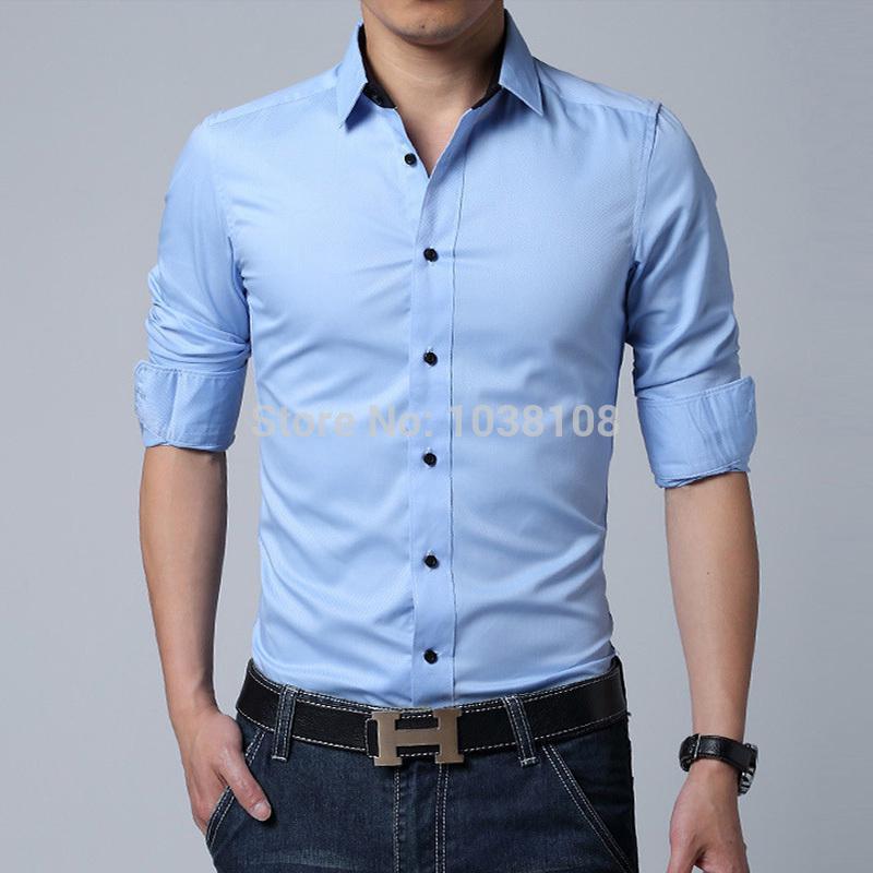 formal shirts for men best wholesale menu0027s brand shirt mens long sleeve dress shirt men classic  easy care LPJERSI