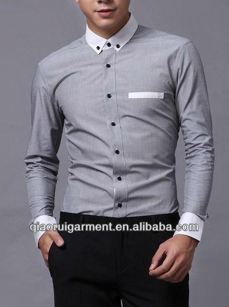 formal shirts for men pictures of formal shirts men slim fit pinpoint oxford high quality casual  long sleeve KOUYNAB