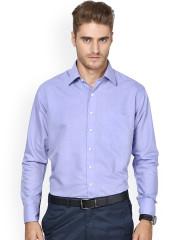 formal shirts for men shaftesbury london blue standard fit formal shirt OPLLZGB