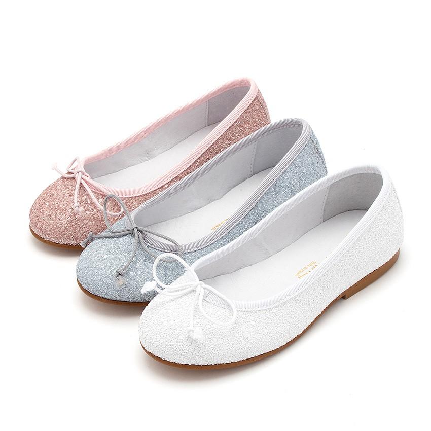 girls u0026 womens glitter ballerina shoes ... CYXNBWE