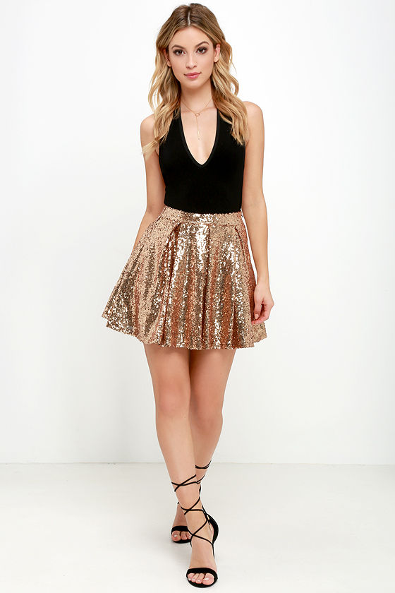 gold sequin skirts gold sequin skirt DTCWSHW