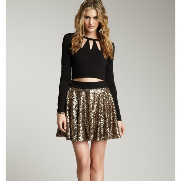 gold sequin skirts gold sequin skirt VVVEDPB