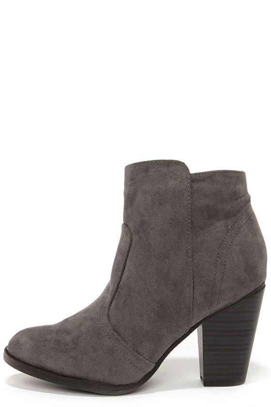 grey suede boots heydays grey suede ankle boots EWAHYNI