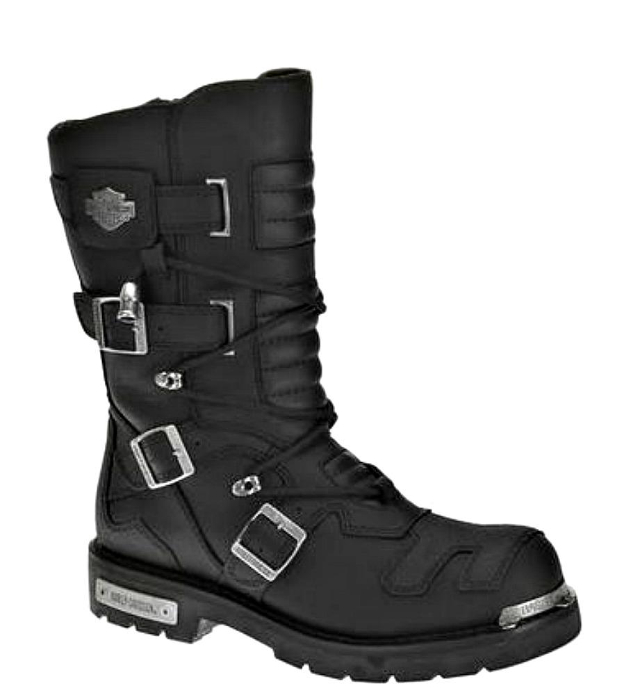 harley-davidsonu0026reg; menu0027s axel motorcycle riding boots | tectuffu0026reg; TIWFBJO