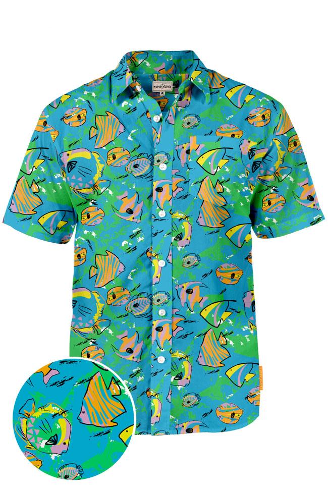 Hawaiian Shirt the fish bowl hawaiian shirt DBHJQAC