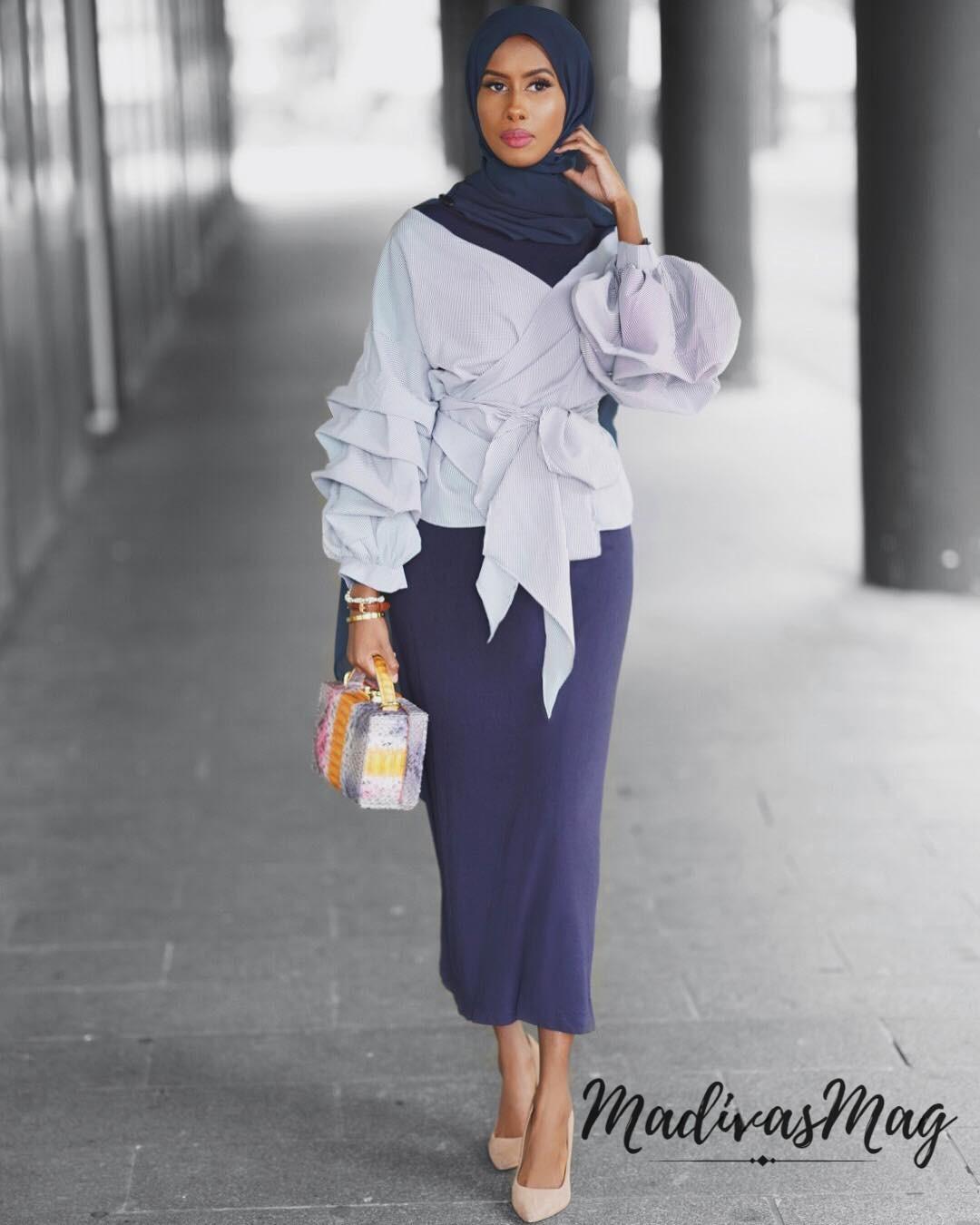hijab fashion @basma_k OXAFNQU