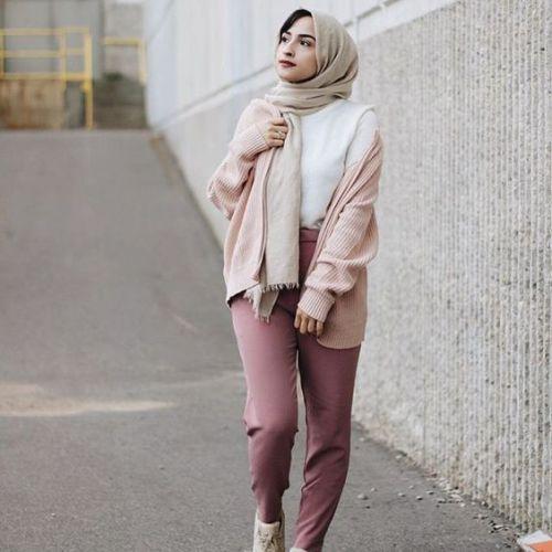 instargram hijab fashion outfits QHLECZA
