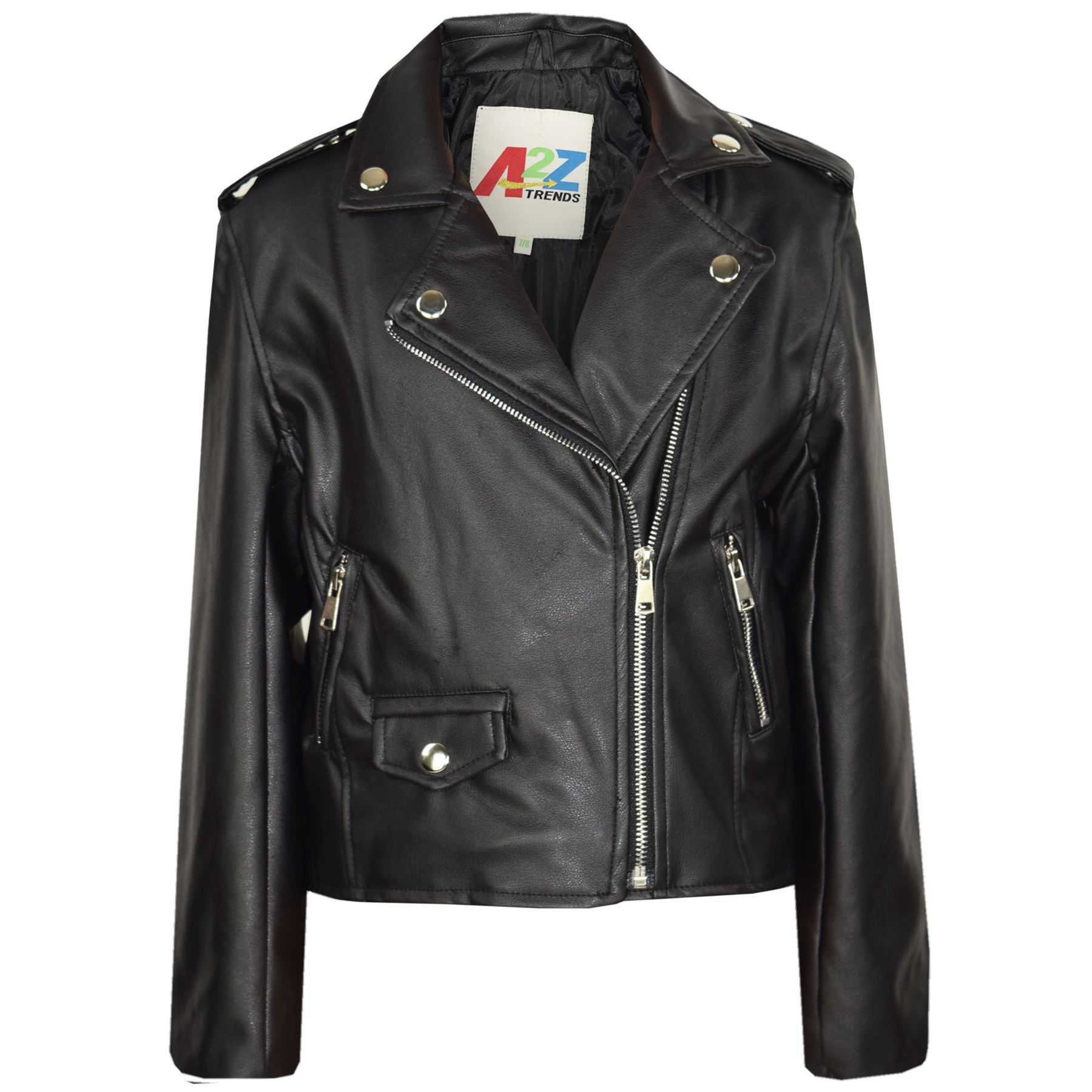 jackets for girls kids-jackets-girls-designer-039-s-pu-leather- LYATGGV