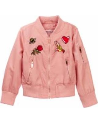 jackets for girls urban republic patch bomber jacket (toddler girls) at nordstrom rack - girls  coats u0026 GRIJTJG