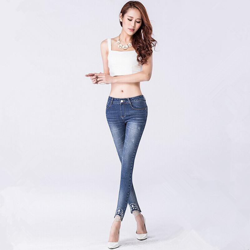 jeans fashion for women 2018 2016 women jeans new fashion wild slim denim pencil pants casual jeans  woman YRMJTNX