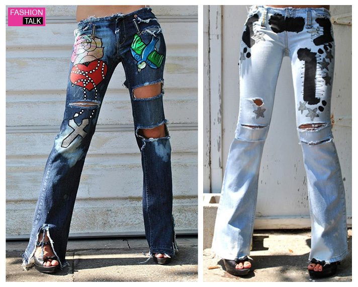 jeans fashion for women letu0027s take a look on painted fashion jeans so we can get some ideas about HYYPKTH