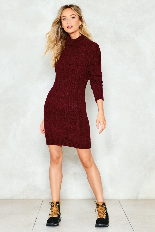 keep me warm sweater dress GUGABLS