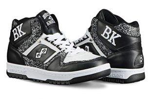 knights sneakers british knights kings sl menu0027s chukka sneaker black/white, ... DAFMYEU