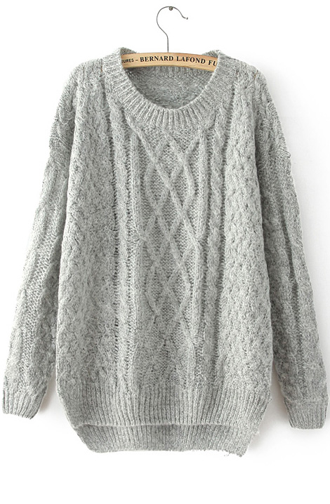 knit cable sweater a closer look NTEFCYN