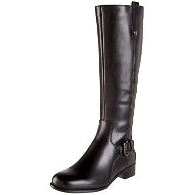 La canadienne boots la canadienne womenu0027s stefanie riding boot,black,5 ... XKVRVBY