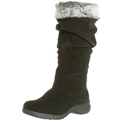 La canadienne boots la canadienne womenu0027s trevis boot,black,6.5 w BMCVPPP