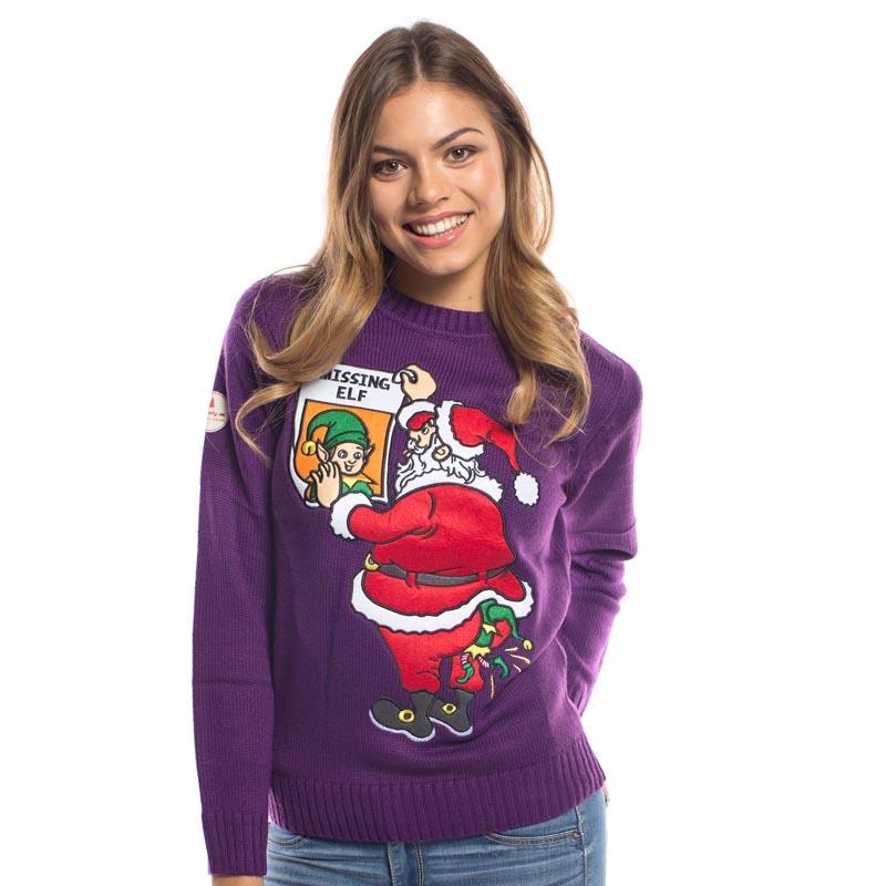 ladies Christmas jumpers missing elf christmas jumper · ladies missing elf christmas jumper ... TVPMDYD