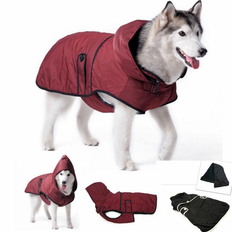 large dog clothes warm winter jacket coat waterproof clothing for big  golden retriever rottweiler WAMNPTY