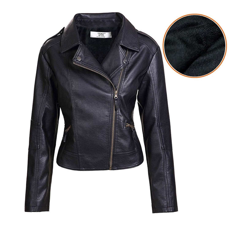 Leather Jackets artfasion womenu0027s slim tailoring faux leather pu short jacket coat us size  at amazon CUPAPRZ