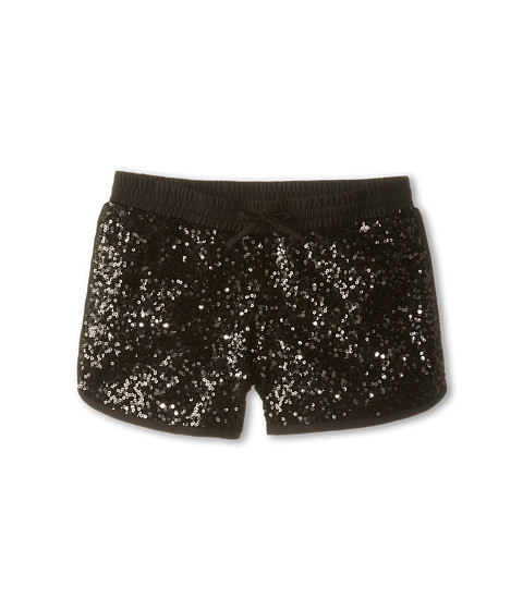 The Little black sequin shorts for that gorgeous party look