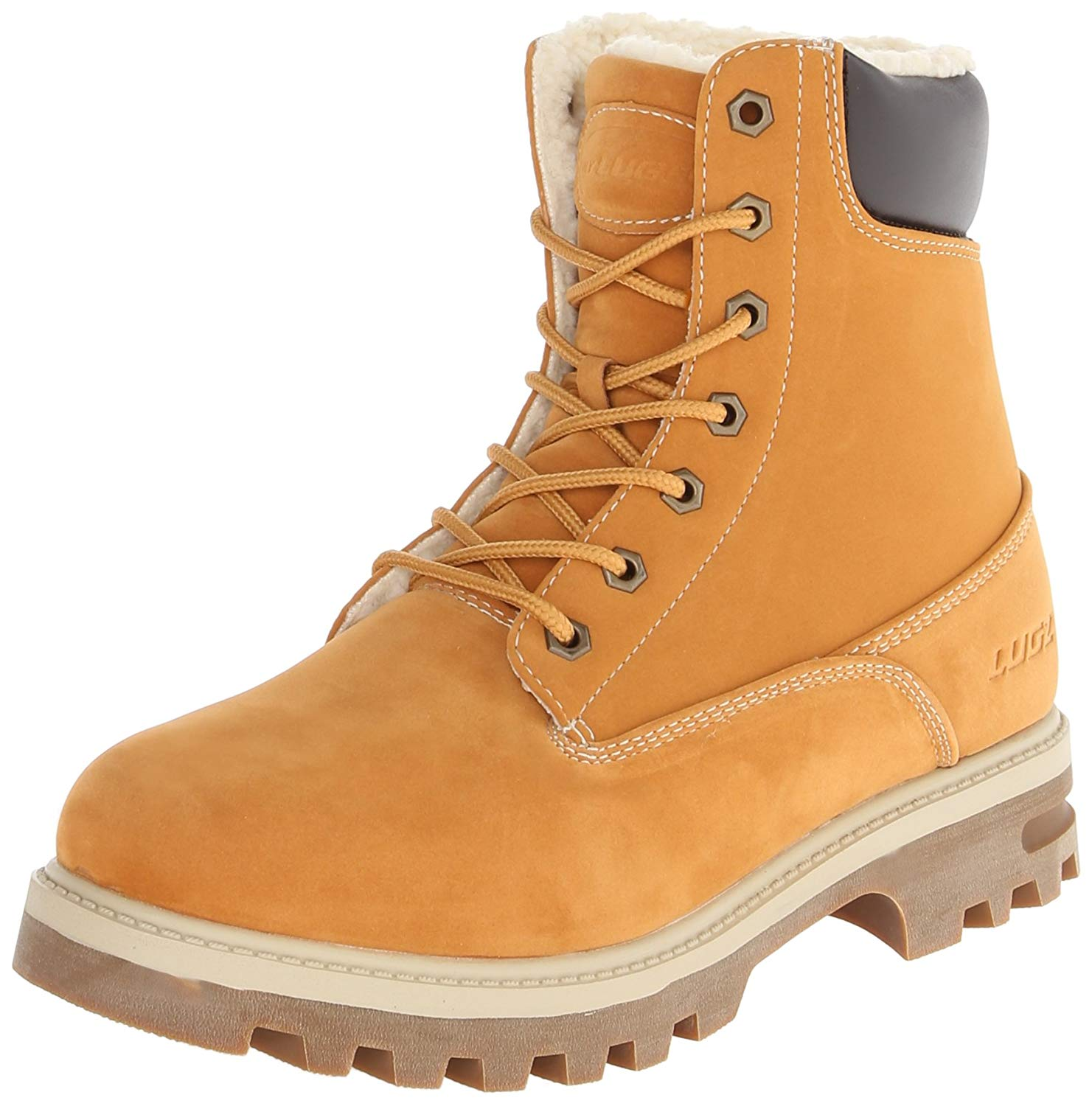 Lugz boots amazon.com | lugz menu0027s empire hi fleece wr thermabuck boot | industrial u0026  construction XMFKVBD