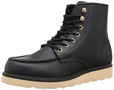 Lugz boots lugz menu0027s prospect boot, black/cream, ... RRPRNFX